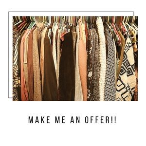 Make me an offer on my closet!!
